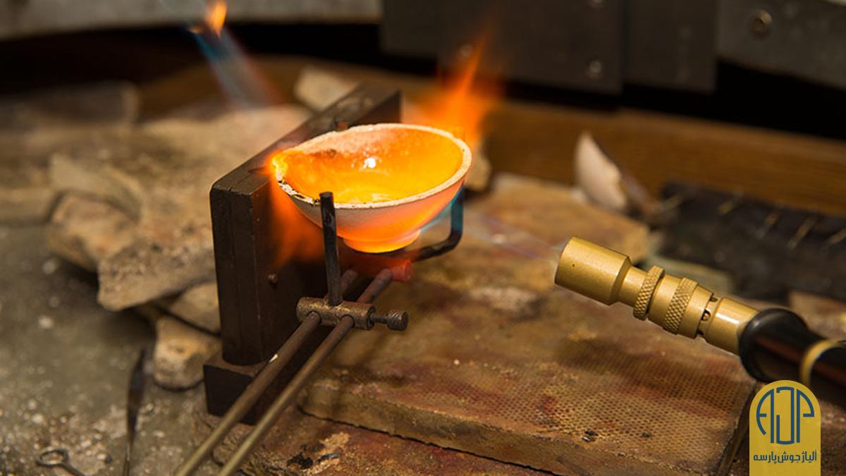 ذوب فلزات